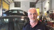 Philippe Brignon, le gérant d'un garage à Jambes, conseille de bien faire vérifier les niveaux et la pression des pneus comme toujours avant le départ en vacances. Mais aussi à cause de la chaleur.
