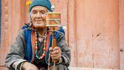 Le bouddhisme colore la vie des Tibétains et des Ladakhis rarement sans leur moulin à prières.