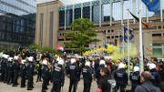 Rassemblements des « Gilets jaunes » à Bruxelles: plus de 300 arrestations administratives