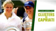 Roland Garros 2001: Clijsters si proche de l'exploit contre Capriati