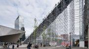 Un escalier de 29 mètres pour les 75 ans de la reconstruction de Rotterdam