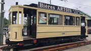 Ce tram de 1914 a été restauré par le Musée du Transport Urbain Bruxellois