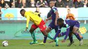 Anderlecht coule à Ostende malgré le retour de Kompany
