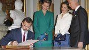 Visite des souverains espagnols à Bruxelles