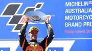 Victoire de Binder, statu quo entre Bagnaia et Oliveira en Moto 2