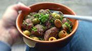 Recette de Candice : Cocotte de bœuf à la provençale aux olives et romarin