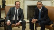 François Hollande reçu par Barack Obama à la Maison Blanche en novembre 2015.