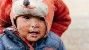 Une fois loin de la ville, nous rencontrons énormément de peuples nomades sur ces hauts-plateaux himalayens.