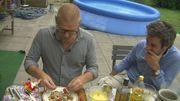 Les recettes de l'été : 3. Macédoine de légumes et farfalle à l'anguille fumée