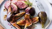 Recette: magret de canard aux figues fraîches