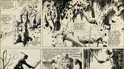 Les pointures de la bande dessinée mondiale se donnent rendez-vous chez Sotheby's