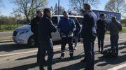 Le ministre De Crem est venu constater le travail des policiers au poste frontière d'Hensies.