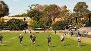 Pas d'entraînement avec contact avant longtemps en rugby