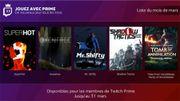 Les abonnés Amazon Prime recevront des jeux gratuits tous les mois sur PC et Mac
