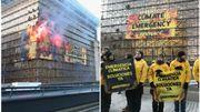 """Action Greenpeace: """"Notre maison est en feu, il faut y faire face et envoyer les pompiers"""""""