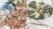 Déco crush : la lampe fleur aux pales évanescentes de Georges Store