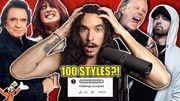 Journey : « Don't Stop Believin' » dans le style de 100 Artistes et groupes différents