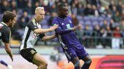 Anderlecht contraint au partage par Lokeren et son buteur Olivier Deschacht