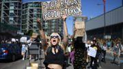 A Londres, les manifestations ont également dénoncé les violences policières.