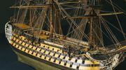 Les maquettes de la marine napoléonienne exposées au Grand Trianon, à Versailles