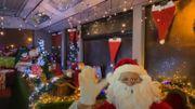 Un bus aménagé pour faire venir le père Noël à Beauvechain en respectant les gestes barrières