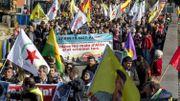 Une manifestation nationale contre le racisme dans les rues de Bruxelles