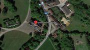 La localisation du château à Jodoigne.