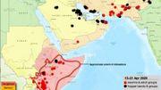 C'est au Kenya, en Somalie et en Ethiopie que ces essaims de criquets ont fait le plus de dégâts, dans la corne de l'Afrique.