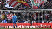 """""""Ce qu'on m'a lancé, ce n'est pas grave"""", assure Thibaut Courtois, chahuté à l'Atlético"""