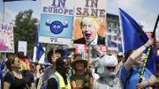 Une nouvelle manifestation anti-Brexit à Londres