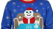 Un père Noël cocaïnomane sur un pull chez Wal-Mart: la blague passe très mal en Colombie