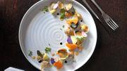 Recette: Salade de coques, clémentines et pommes de terre