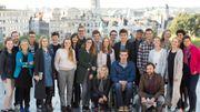 Remise des prix Belgodyssée 2016 depuis le Palais Royal
