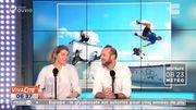 Deux nouvelles disciplines extrêmes : le skate-parkour et le speed flying !
