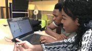 Ousmane et Rose suivent une formation pour devenir animateur