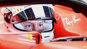 Sebastian Vettel aux prises à des soucis mécaniques lors des essais vendredi matin