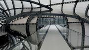 """Le """"nuage"""" de Fuksas, nouveau centre de congrès de Rome"""