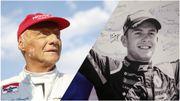 Niki Lauda et Anthoine Hubert
