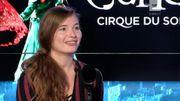 """Eve Willems, LA belge du nouveau """"Cirque du Soleil"""""""