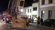 Explosion au gaz au centre-ville de Bastogne: neuf blessés, dont trois entre la vie et la mort