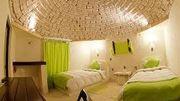 Dormir dans un hôtel construit dans un matériau très particulier…