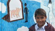 """Nestor fier de son """"Magritte au cochon"""""""