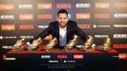 36 buts la saison dernière : sixième Soulier d'or européen pour Messi
