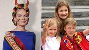 Pour supporter les Diables, nos petits princes ont plus de classe que leurs parents