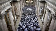 L'artiste JR fait entrer 4.000 anonymes de France et du monde au Panthéon