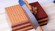 Vous reprendrez bien une part de ce gâteau au chocolat en Lego?