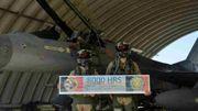 Les F-16 belges ont franchi le cap des huit mille heures de vol