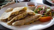Recette Candice : Quesadillas au poulet et au maïs