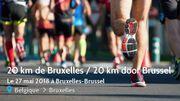 Les Schtroumpfs s'invitent aux 20 km de Bruxelles!