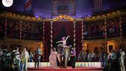 Première diffusion de l'opéra Carmen mis scène par Brockhaus